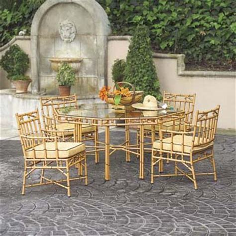 Bamboo Patio by Bionic Bamboo Patio Dining Sets This House