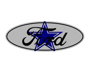 Ford Decals And Emblems Ford Dallas Cowboys Emblem Overlay F 150 F 250 F 350 Focus