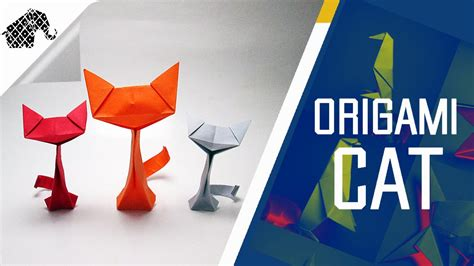 How To Make A Origami Cat - origami how to make an origami cat