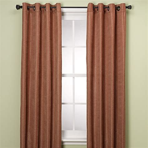 spice curtains buy grendell 108 quot window curtain panel in spice from bed