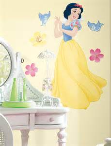 snow white wall stickers snow white giant wall sticker stickers for wall com
