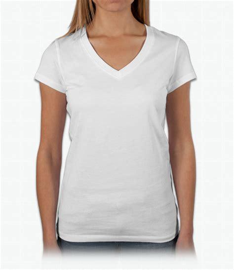 V Neck T Shirt custom baby rib v neck t shirt design