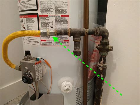 Gas Water Heater Blue Gas gas split gas line to gas water heater for gas
