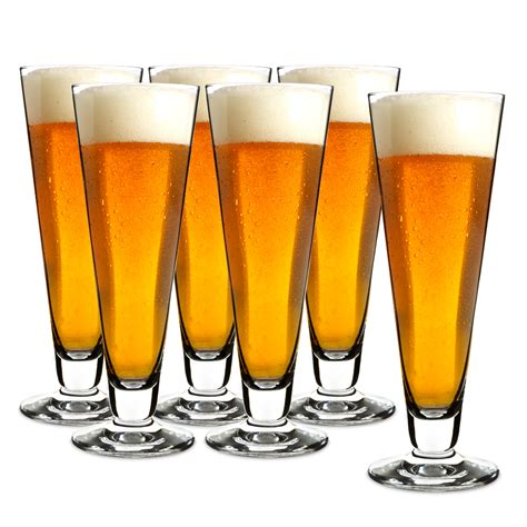 House Warming Gift Ideas by Schott Zwiesel Pilsner Beer Glass Set 6pce Peter S Of