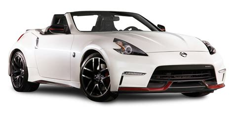 nissan white car nissan 370z nismo roadster white car png image pngpix