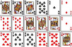 print deck of cards 4 best images of set of cards printable