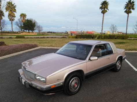 1991 Cadillac Eldorado Biarritz For Sale 1991 Cadillac El Dorado Biarritz 77 K For Sale
