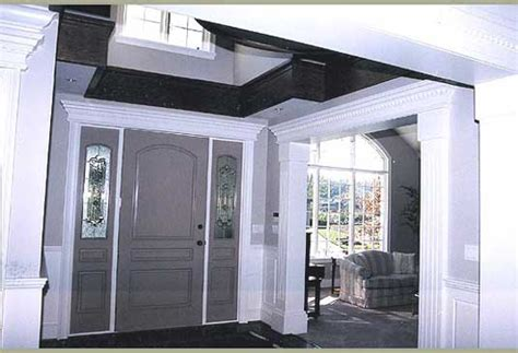 Exterior Door Header Crown Mouldings Door Headers Pilaster Strips And More Polyurethane Mouldings Reproductions