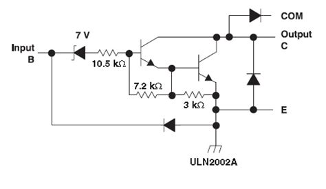 transistor relay driver circuit relay driver circuit using uln2003 and its applications