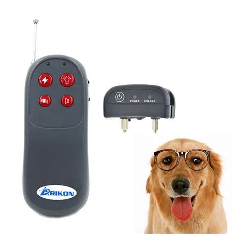 shock collar for large dogs collar for and stop barking arikon remote shock collar
