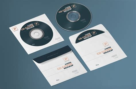 Download 25 Free Psd Cd Dvd Cover Mockups Freecreatives Cd Mockup Template