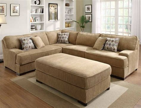 corduroy fabric sectional corduroy sectional sleeper section no chaise allows