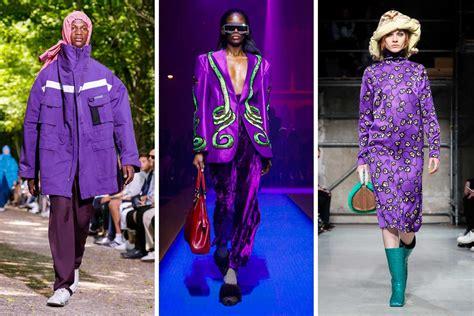 colore pantone  ultra violet idee moda