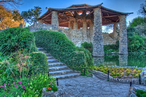 San Antonio Japanese Tea Garden by Japanese Tea Garden Pagota San Antonio A Photo On
