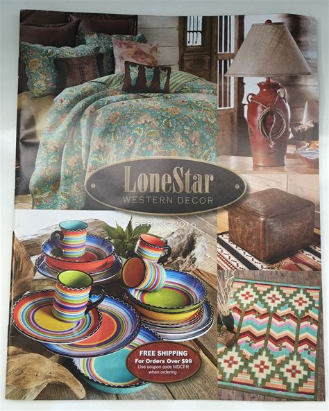 request a free lonestar western decor catalog