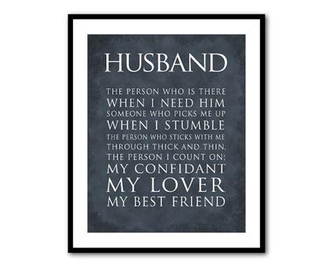 printable husband quotes anniversary wedding gift husband typography print what