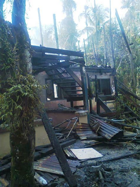Lu Emergency Rumah pas kawasan miri apa punca sebenar kebakaran rumah sering