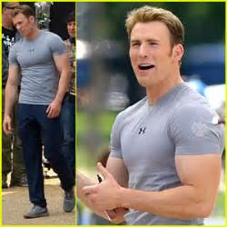 T Shirt Kaos Baju Captain America Winter Soldier Suit i ve always wanted to be captain america going for chris