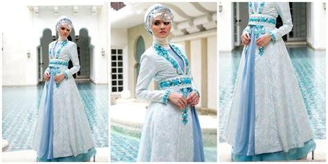 Gaun Pengantin Muslimah Dian Pelangi Dengan 11 Gaun Pengantin Ini Kamu Bisa Secantik Putri Di