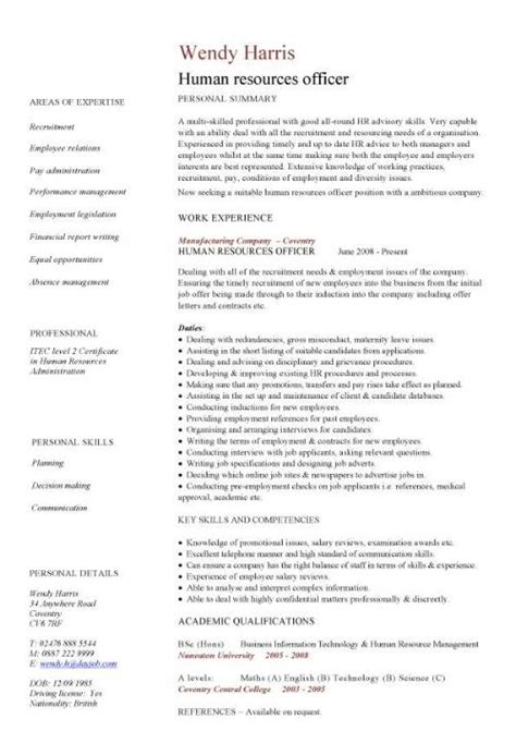 Free Resume Samples In Pdf by Administration Cv Template Free Administrative Cvs