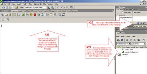tutorial website php css paul kurucz s visual tutorials cascading style sheet in
