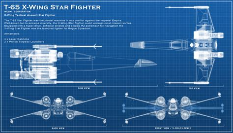 blueprint designs x wing blue print by chaoshour on deviantart