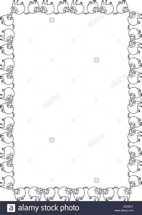 free download borderlayout a4 fitted full frame border layout in a meandering style