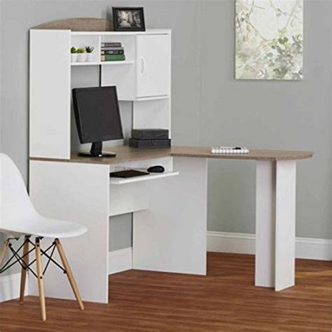 Mainstays L Shaped Desk With Hutch Finishes by Mainstays L Shaped Desk With Hutch Finishes