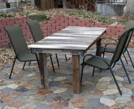Patio Table Ideas Best Diy Patio Furniture Ideas