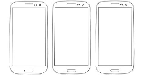 phone screen template design hardware templates characters