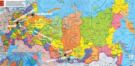 map of siberia russia with cities travel global jabouble