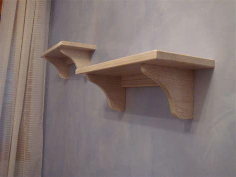 mensole da muro in legno mensole in legno di rovere roma e su misura falegnameria roma