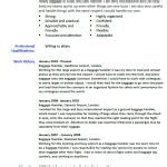 Airline Baggage Handler Cover Letter by Cv Exles Archives Page 3 Of 15 Cover Letter And Cv Exles