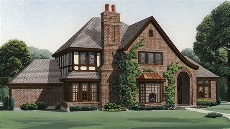 tudor house plans and tudor designs at builderhouseplans
