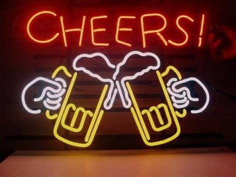 cheers light up sign 17 quot x14 cheers logo bar pub store garage neon light
