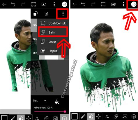 tutorial edit foto di picsart cara edit foto splatter effect keren di picsart