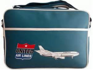 united airline luggage vintage flight bags retro travel bags with airline logos