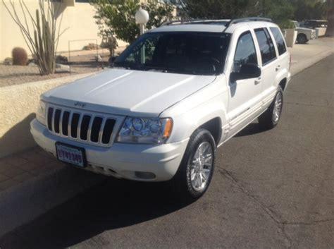 2003 jeep grand v8 4 x 4 quadra trac california