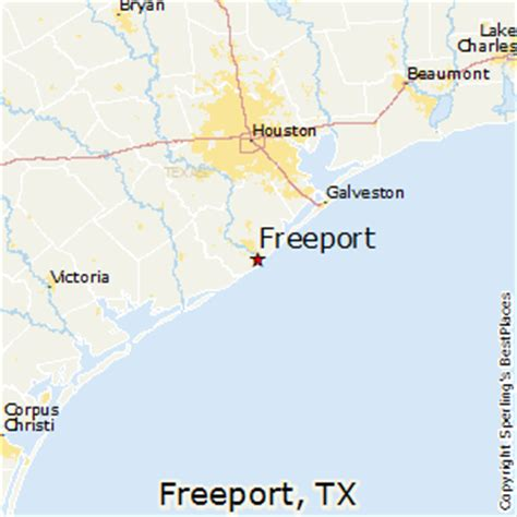 map of freeport texas best places to live in freeport texas