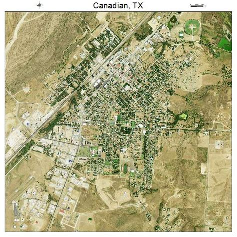 map of canadian texas aerial photography map of canadian tx texas