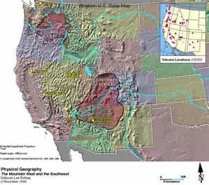 elevation map southwest us walkergood pueblo