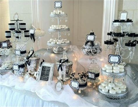 26 Best Images About White Candy Buffet On Pinterest Black And White Buffet