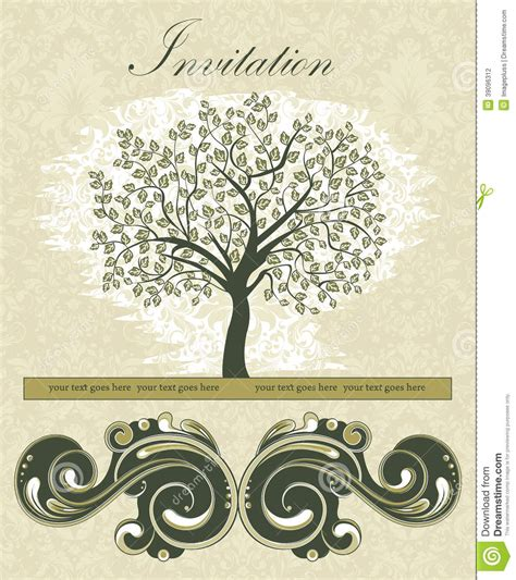 reunion invitation design vector family reunion invitation card stock vector illustration