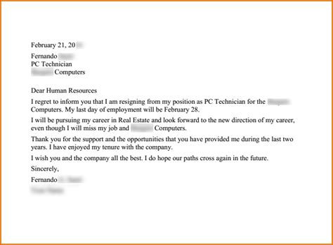 letter of resignation with regret resignation letter format useful templates write letter