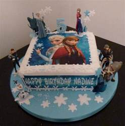 frozen square cake square birthday cake frozen on birthday cakes in leamington spa