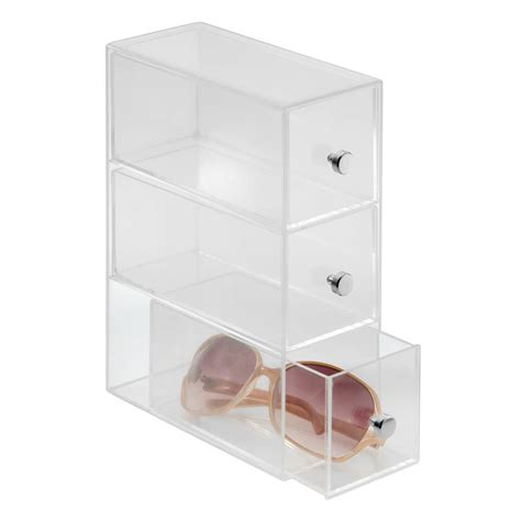 Acrylic Makeup Storage Drawers by Flippable Acrylic Drawers For Makeup Storage By Jodie