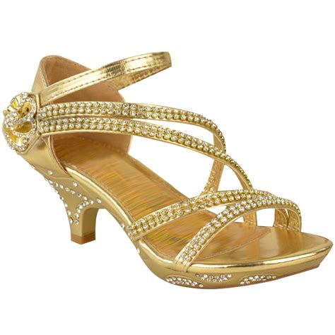 bridesmaid sandals new low heel wedding diamante sandals