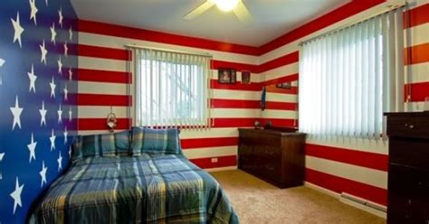 patriotic bedroom decorating ideas patriotic walls this is awesome tyler s room
