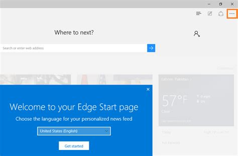 resetting windows edge how to reset to default settings of the microsoft edge