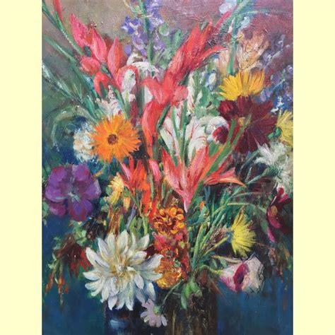 vasi di fiori dipinti montini umberto vaso di fiori dipinto realizzato intorno